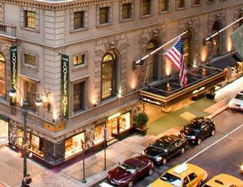 Roosevelt NY Hotel Exterior Corner CROP